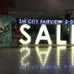Photo taken at SM City Fairview by Billy Joe S. on 8/18/2012