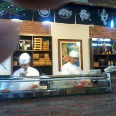 Photo taken at Sushiya by Andy J. on 3/31/2012