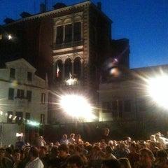 Photo taken at Arena Estiva Campo San Polo by Veneziadavivere on 8/21/2012