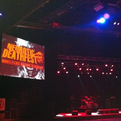 Photo taken at Jupiler zaal by Eddy H. on 3/4/2012