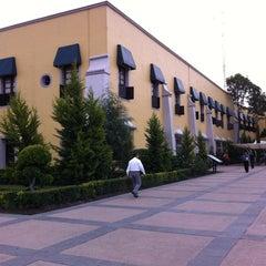 Photo taken at Delegación Miguel Hidalgo by Karys on 4/20/2012