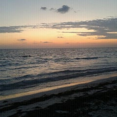 Photo taken at Playa Langosta by Diana E. on 4/11/2012
