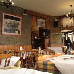 Photo taken at La Braseria by Oscar M. on 2/13/2012