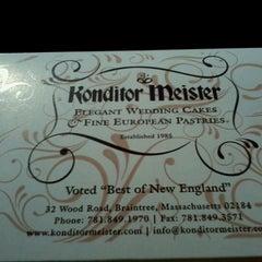 Photo taken at Konditor Meister by Sharon G. on 9/1/2012