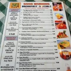 Photo taken at Hudson Diner by Ron C. on 6/18/2012