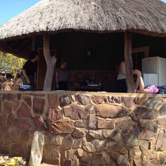 Photo taken at Olifants Rest Camp by Eric v. on 7/7/2012