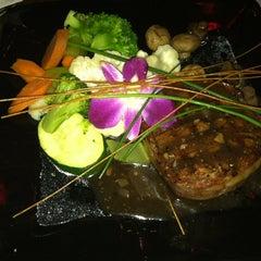 Photo taken at Saska's Steaks and Seafood by Luke N. on 5/13/2012