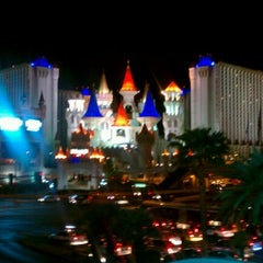 Photo taken at Excalibur Hotel & Casino by Reyna G. on 4/9/2012