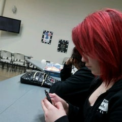 Photo taken at Paul Mitchell The School Dallas by Lauren M. on 2/16/2012