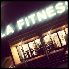 Photo taken at LA Fitness by Melrokks on 4/12/2012