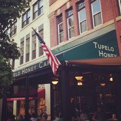 Photo taken at Tupelo Honey Cafe by Jamie P. on 8/10/2012