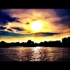 Photo taken at Chao Phraya River by Yuthakarn T. on 5/30/2012