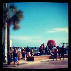 Photo taken at Southernmost Point Continental USA by Andy M. on 6/17/2012