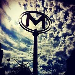 Photo taken at Métro Bastille [1,5,8] by Chris B. on 8/12/2012