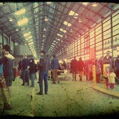 Photo taken at Eveleigh Market by jaddan b. on 6/9/2012