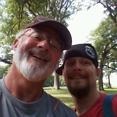 Photo taken at The Oaks Disc Golf Course by Jeffrey Z. on 8/15/2012