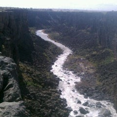 Photo taken at Malad Gorge State Park by Jamie C. on 4/14/2012