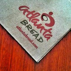 Photo taken at Atlanta Bread Company by The P. on 9/5/2012