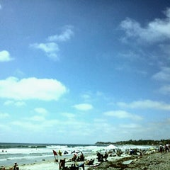 Photo taken at Cardiff State Beach by Hirohito K. on 6/30/2012