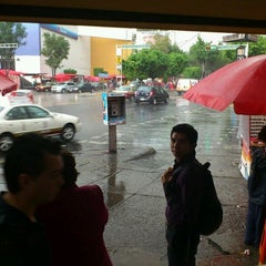 Photo taken at Plaza Puerta Condesa by oscar v. on 7/24/2012