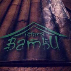 Photo taken at Restoran Istana Bambu by Myra M. on 3/3/2012