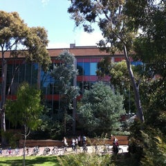 Photo taken at The Baillieu Library by Leonie B. on 3/9/2012