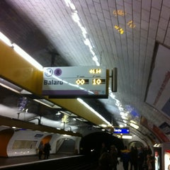 Photo taken at Métro Madeleine [8,12,14] by KlarAgora K. on 3/11/2012