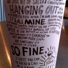 Photo taken at Chipotle Mexican Grill by Brandi J. on 5/5/2012