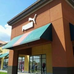 Photo taken at The PUMA Outlet Albertville Premium Outlets, Albertville by Jeremiah V. on 8/18/2012
