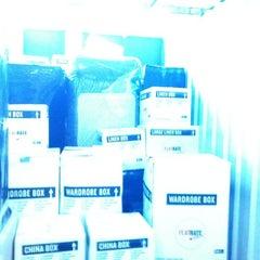 Photo taken at Manhattan Mini Storage by IC C. on 4/16/2012