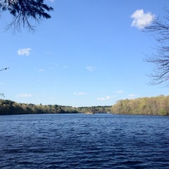 Photo taken at Hopkinton State Park by . q. on 4/29/2012