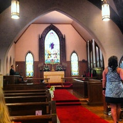 Photo taken at St. John's Episcopal Church by Cathy N. on 7/21/2012