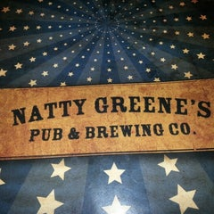 Photo taken at Natty Greene's Pub & Brewing Co. by Jeremy F. on 8/10/2012
