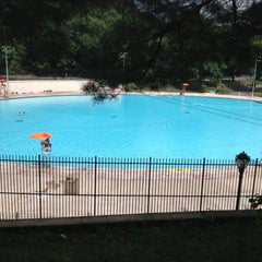 Photo taken at Lasker Pool & Ice Rink by Lawrence A. on 8/18/2012