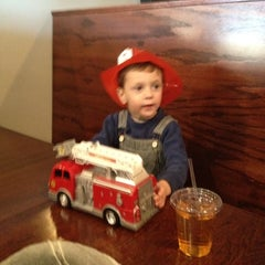 Photo taken at The Firehouse Restaurant by Brian F. on 4/7/2012