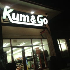 Photo taken at Kum & Go by Mallory R. on 5/6/2012