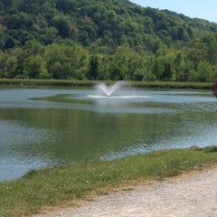 Photo taken at Barboursville Park by Crystal S. on 4/19/2012