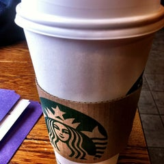 Photo taken at Starbucks by Myra S. on 3/5/2012