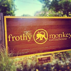Photo taken at The Frothy Monkey by Angel A. on 6/23/2012