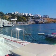 Photo taken at Doria Beach by Erdal C. on 9/2/2012