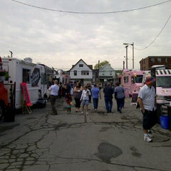 Photo taken at Sew Hungry Food Truck Rally by Quality Hotel Hamilton, Ontario Canada G. on 5/4/2012