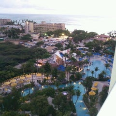 Photo taken at Marriott's Aruba Surf Club by Natessa M. on 4/18/2012