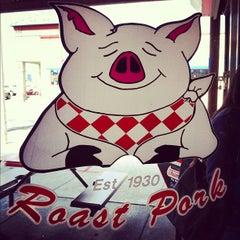 Photo taken at John's Roast Pork by Tom C. on 3/29/2012
