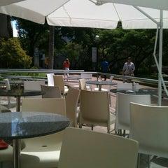 Photo taken at Garten Bistrô by Marcus L. on 3/15/2012