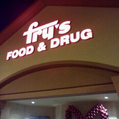 Photo taken at Fry's Food Store by Andrew D. on 2/11/2012