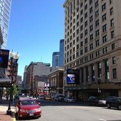 Photo taken at Courtyard Boston Downtown / Tremont by Jonathan S. on 6/28/2012