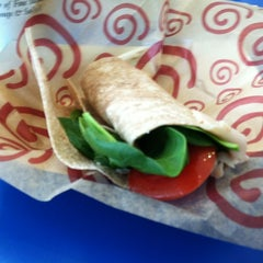 Photo taken at Roly Poly Sandwiches by Kriss B. on 4/21/2012