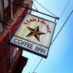 Photo taken at Star Lounge Coffee Bar by Brad C. on 9/3/2012