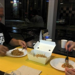 Photo taken at Yellow Cab Pizza Co. by Iris J. on 7/16/2012