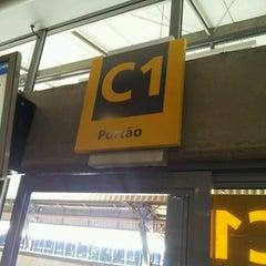 Photo taken at Portão C by eduardo c. on 7/6/2012